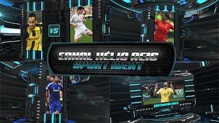 Como editar template after effects Esporte futebol Soccer Extreme Sport Ident