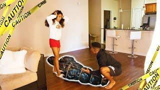 HELP ME MOVE THE BODY PRANK ON GIRLFRIEND!! (SHE ALMOST LEFT ME)