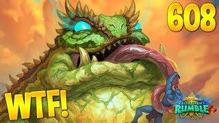 HEARTHSTONE Best Daily FUNNY and WTF Moments 608!