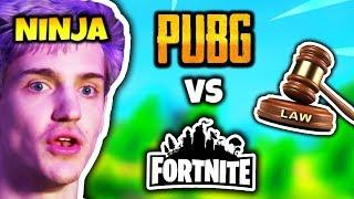NINJA REACTS TO PUBG SUING FORTNITE | Fortnite Daily Funny Moments Ep.84