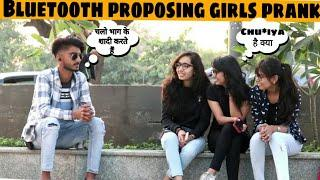 Bluetooth prank -Proposing Hot Girls | Awesome Reactions #-2 | prank in india |Jaipur tv