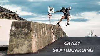 CRAZY SKATEBOARD TRICKS 2018! BEST SKATE & SKATEBOARDING & SKATING COMPILATION #2