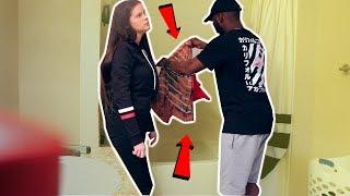 I BLEACHED MY GF CLOTHES PRANK! (she left me ????)