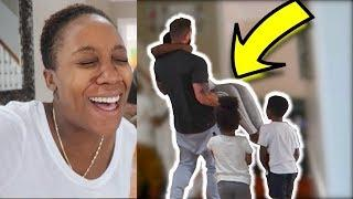 FAINTING PRANK ON HUSBAND *while pregnant*