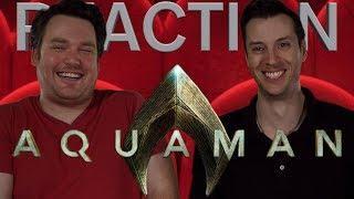 Aquaman - Final Trailer Reaction