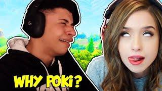 POKIMANE CHEATED ON MYTH! MYTH CRIES!? Fortnite FUNNY & SAVAGE Moments