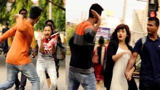 Slapping Prank on Cute Girls ????????Prank Gone Wrong -  PrankBuzz   Part- 2