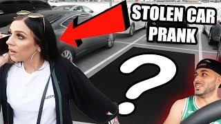 STOLEN CAR PRANK ON GIRLFRIEND!!