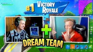 Ninja & Tfue Play Together For The First Time Ever! | Fortnite Funny Moments & Highlight