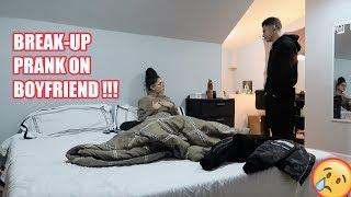 BREAK UP PRANK ON BOYFRIEND !!! (HE KICKED ME OUT)