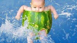 BABIES WATER FAILS THAT WILL MAKE YOU LAUGH | Funny Babies Videos Compilation