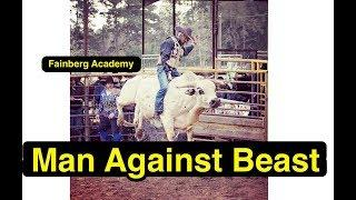 First time Bull Riding in Life | Lets Try | Be Open | Опасный Бизнес | Fainberg Academy