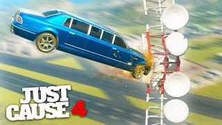 EXTREME SPORTS CHALLENGE! - Just Cause 4 Stunts & Challenges!