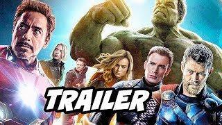 Avengers 4 Endgame Trailer Easter Eggs and References