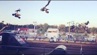 Huge Action Sports Train - BMX MX & ATV - ATV Big Air Tour