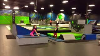Bouncing Jumping Playing At The INFINITY Extreme Sports Lakeland Florida