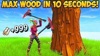 NEW *SUPER FAST* WAY TO GET MATERIALS! - Fortnite Funny Fails and WTF Moments! #284 (Daily Moments)