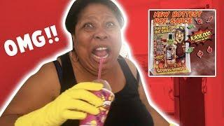THE WORLDS HOTTEST HOT SAUCE PRANK ON  MOM...
