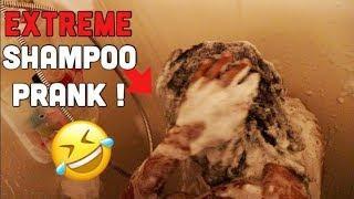 EXTREME SHAMPOO PRANK ON BOYFRIEND!!!