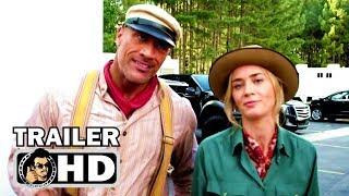 JUNGLE CRUISE Teaser - Production Wrap (2019) Dwayne Johnson, Emily Blunt Disney