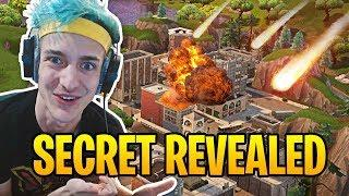 Ninja Reacts to Tilted Towers Being Destroyed by Meteors! | Fortnite Best Moments #15