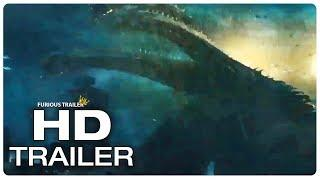 GODZILLA 2 King Ghidorah Reveal Trailer (NEW 2019) Godzilla King Of The Monsters, Monster Movie HD