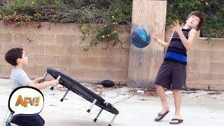 Funny Trampoline Fails | AFV Funniest Fails December 2018