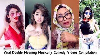 Viral Double Meaning Musically Comedy Videos Compilation | Best Of Tik Tok Funny Videos | #Musically