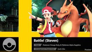 Battle! (Steven) (Pokémon ORAS) - Super Smash Bros. Ultimate Soundtrack