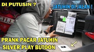 PRANK PACAR ! JATUHIN SILVER PLAY BUTTON DARI MOBIL MARAH BGT !