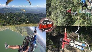 X-Treme: Paragliding/Bungee Jumping