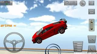 Extreme Car Stunts 3D | New Car Unlocked Red Sport cAr: Impossible Stunts - Android GamePlay 2019