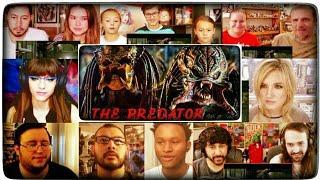 The Predator Final Trailer (2018) Reactions Mashup | Predator (2018) | Predator Trailer Reaction