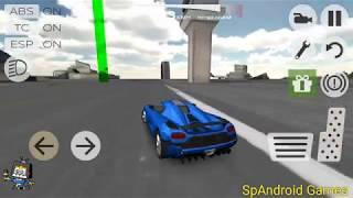 Extreme Car Simulator | New Sports Car Unlock | Driving To Checkpoint Off-road | Android Gameplay HD