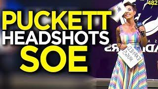Puckett Accidentally Hits Soe In The Head - Overwatch Funny Moments