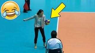 COACH SERVE !? Funny Volleyball Videos (HD)