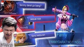 Prank Fanny darat part 2 - Pura pura AFK! Disaat first pick ????