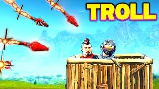 9000 IQ GUIDED MISSILE TROLL! | Fortnite FUNNY & Best Moments! (Battle Royale)