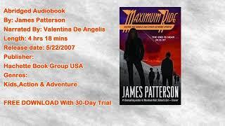 Saving the World and Other Extreme Sports Audiobook by James Patterson