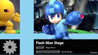 Flash Man Stage (Mega Man 2) - Super Smash Bros. Ultimate Soundtrack