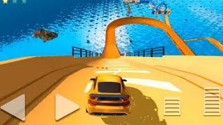 EXTREME SPORTS CAR STUNTS 3D GAME - Impossible Stunt Car Tracks 3D #q Car Games - Android GamePlay