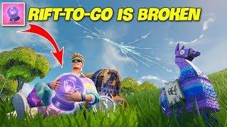 200 IQ New Rift To Go Plays..!  | Fortnite Twitch Funny Moments #156