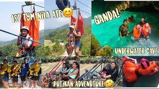 FIRST TIME ZIPLINE + UNDERWATER CAVE ADVENTURE and EXTREME SPORTS ACTIVITIES