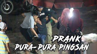 PRANK PURA-PURA PINGSAN //ft DEBI CEPER & SAPUTRA YADI