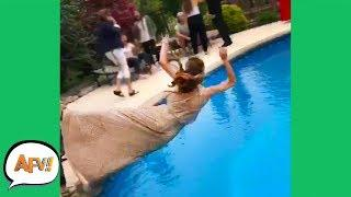 Think That Dress is WATERPROOF? ????   Funniest Fails   AFV 2019