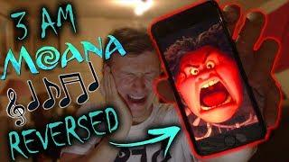 *SCARY* DO NOT PLAY THE MOANA SOUNDTRACK IN REVERSE AT 3 AM (THIS IS WHY)