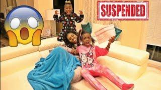 YAYA SUSPENDED FROM SCHOOL PRANK ON MOM