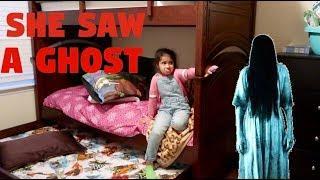 GHOST IN HER BEDROOM PRANK!!