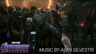 Soundtrack - Avengers: Endgame - Avengers Assemble Scene ( Portals )
