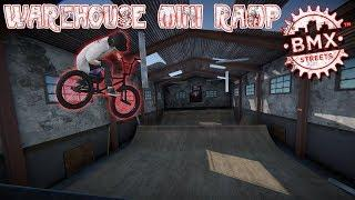 BMX Streets PIPE - Warehouse Mini Ramp!